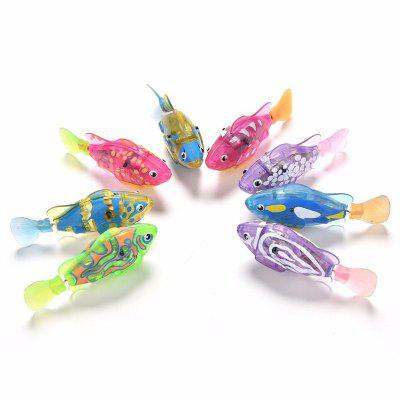 1PC Fish Pattern Electronic Sensing Plastic ToyNovelty Toys<br>1PC Fish Pattern Electronic Sensing Plastic Toy<br><br>Features: Bath / Wash<br>Materials: Plastic<br>Package Contents: 1 x Bath Toy<br>Package size: 10.00 x 4.00 x 5.50 cm / 3.94 x 1.57 x 2.17 inches<br>Package weight: 0.0550 kg<br>Product size: 8.00 x 2.00 x 3.50 cm / 3.15 x 0.79 x 1.38 inches<br>Product weight: 0.0250 kg<br>Series: Entertainment<br>Theme: Animals