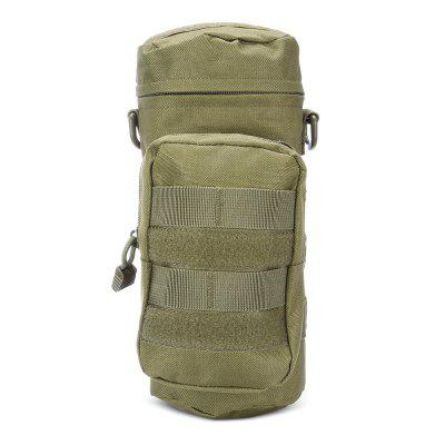 Tactical Nylon Water Bottle Bag MOLLE System 2-pocket PouchDuffel Bags<br>Tactical Nylon Water Bottle Bag MOLLE System 2-pocket Pouch<br><br>Package Contents: 1 x Water Bottle Bag<br>Package Dimension: 29.00 x 18.00 x 4.00 cm / 11.42 x 7.09 x 1.57 inches<br>Package weight: 0.2380 kg<br>Product Dimension: 27.00 x 15.00 x 11.00 cm / 10.63 x 5.91 x 4.33 inches<br>Product weight: 0.1940 kg