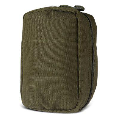 Tactical Nylon Mobile Phone Accessory Bag First Aid PouchDuffel Bags<br>Tactical Nylon Mobile Phone Accessory Bag First Aid Pouch<br><br>Features: Durable, Tactical Style, Ultra Light, Water Resistant<br>Materials: Nylon<br>Package Contents: 1 x Accessory Bag<br>Package Dimension: 22.00 x 15.00 x 4.00 cm / 8.66 x 5.91 x 1.57 inches<br>Package weight: 0.1750 kg<br>Product Dimension: 21.00 x 14.00 x 9.00 cm / 8.27 x 5.51 x 3.54 inches<br>Product weight: 0.1400 kg