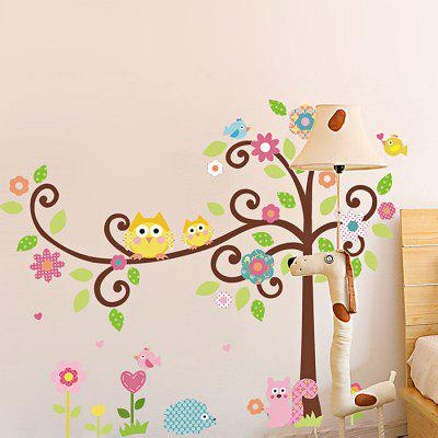 All Kinds of Cartoon Animals Design StickerWall Stickers<br>All Kinds of Cartoon Animals Design Sticker<br><br>Function: Decorative Wall Sticker<br>Material: Self-adhesive Plastic, Vinyl(PVC)<br>Package Contents: 1 x Sticker<br>Package size (L x W x H): 52.00 x 3.50 x 3.50 cm / 20.47 x 1.38 x 1.38 inches<br>Package weight: 0.1400 kg<br>Product size (L x W x H): 70.00 x 50.00 x 0.10 cm / 27.56 x 19.69 x 0.04 inches<br>Product weight: 0.1000 kg<br>Subjects: Animal<br>Suitable Space: Bedroom,Girls Room,Kids Room,Living Room<br>Type: Plane Wall Sticker