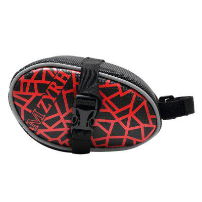 MZYRH Wear-resistant PU Bike Tail Bag Bicycle Rear PackBike Bags<br>MZYRH Wear-resistant PU Bike Tail Bag Bicycle Rear Pack<br><br>Brand: MZYRH<br>Emplacement: Saddle<br>Material: PU<br>Package Contents: 1 x MZYRH Bike Tail Bag<br>Package Dimension: 19.00 x 12.00 x 12.00 cm / 7.48 x 4.72 x 4.72 inches<br>Package weight: 0.1800 kg<br>Product Dimension: 17.50 x 10.60 x 10.50 cm / 6.89 x 4.17 x 4.13 inches<br>Product weight: 0.1430 kg<br>Suitable for: Road Bike, Touring Bicycle, Mountain Bicycle