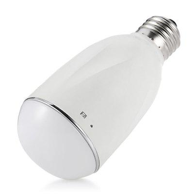 E27 BL - BUFI - S - KIT Capacity WiFi Ball Steep LightSmart Lighting<br>E27 BL - BUFI - S - KIT Capacity WiFi Ball Steep Light<br><br>Available Light Color: White<br>CCT: 2700-6500K<br>Features: Easy to use, WiFi<br>Function: Home Lighting<br>Holder: E27<br>Output Power: 7W<br>Package Contents: 1 x Reticle, 1 x Encoder, 1 x English Specification<br>Package size (L x W x H): 18.50 x 8.50 x 7.00 cm / 7.28 x 3.35 x 2.76 inches<br>Package weight: 0.1870 kg<br>Product size (L x W x H): 12.50 x 5.50 x 1.00 cm / 4.92 x 2.17 x 0.39 inches<br>Product weight: 0.1570 kg<br>Sheathing Material: Glass<br>Voltage (V): AC 110-240