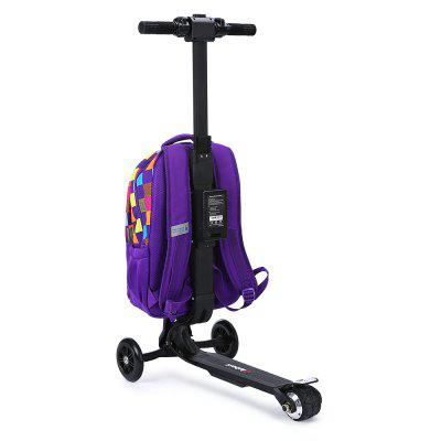 iubest IU - DB03 3-wheel Deachable Electric Backpack ScooterKick Scooter<br>iubest IU - DB03 3-wheel Deachable Electric Backpack Scooter<br><br>Battery: 18650 Li-ion battery<br>Charging Time: 2.5 Hours<br>Folding Type: Folding<br>Max Payload: 120kg<br>Maximum Mileage: 12km<br>Maximum Speed: 15km/h<br>Mileage (depends on road and driver weight): 8-15km<br>Package Content: 1 x iubest IU - DB03 Electric Backpack Scooter, 1 x Battery, 1 x Adapter, 1 x Plug<br>Package size: 40.00 x 33.00 x 70.00 cm / 15.75 x 12.99 x 27.56 inches<br>Package weight: 8.2800 kg<br>Product size: 36.00 x 60.00 x 97.00 cm / 14.17 x 23.62 x 38.19 inches<br>Product weight: 6.6000 kg<br>Seat Type: without Seat<br>Type: Electric Suitcase Scooter<br>Wheel Number: 3 Wheel<br>Working Temperature: -20 - 50 Deg.C