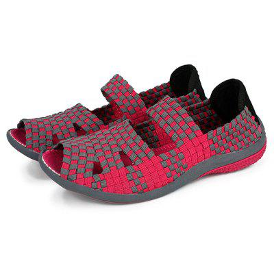 Breathable Slip Resistance Knitted Sandals for Women