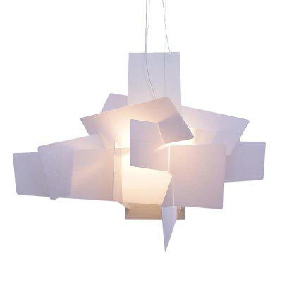 Simple Personality Acrylic Boom Stacked Pendant LightPendant Light<br>Simple Personality Acrylic Boom Stacked Pendant Light<br><br>Battery Included: No<br>Bulb Base: E27<br>Bulb Included: No<br>Chain / Cord Length ( CM ): 100cm<br>Features: Eye Protection<br>Fixture Height ( CM ): 32cm<br>Fixture Length ( CM ): 65cm<br>Fixture Width ( CM ): 65cm<br>Light Direction: Ambient Light<br>Number of Bulb: 1 Bulb<br>Package Contents: 1 x Light<br>Package size (L x W x H): 58.00 x 28.00 x 18.00 cm / 22.83 x 11.02 x 7.09 inches<br>Package weight: 3.5300 kg<br>Product weight: 3.0000 kg<br>Shade Material: Acrylic<br>Style: Chic &amp; Modern<br>Suggested Room Size: 20 - 30?<br>Suggested Space Fit: Bedroom,Dining Room,Living Room<br>Type: Pendant Light<br>Voltage ( V ): AC110