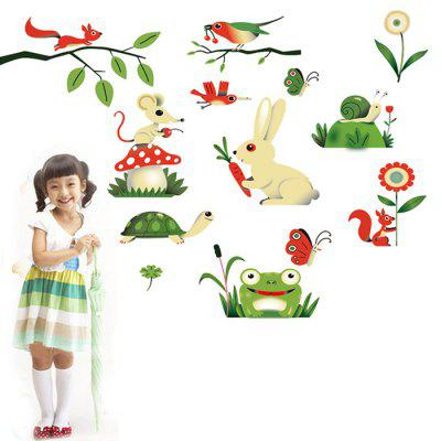 DSU DIY Small Insects Pattern Home Decor Wall StickerWall Stickers<br>DSU DIY Small Insects Pattern Home Decor Wall Sticker<br><br>Brand: DSU<br>Function: Decorative Wall Sticker<br>Material: Vinyl(PVC), Self-adhesive Plastic<br>Package Contents: 1 x Sticker<br>Package size (L x W x H): 60.00 x 5.00 x 5.00 cm / 23.62 x 1.97 x 1.97 inches<br>Package weight: 0.1700 kg<br>Product size (L x W x H): 60.00 x 90.00 x 0.10 cm / 23.62 x 35.43 x 0.04 inches<br>Product weight: 0.1300 kg<br>Subjects: Animal<br>Suitable Space: Bedroom,Kids Room,Kids Room,Living Room<br>Type: Plane Wall Sticker