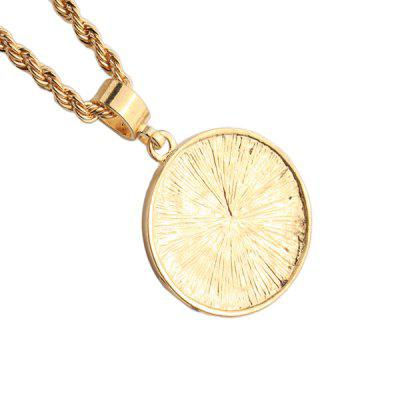 Men Stylish Alloy Pendant NecklaceNecklaces &amp; Pendants<br>Men Stylish Alloy Pendant Necklace<br><br>Jewelry Silhouette: Pendant<br>Occasions: Casual, Others<br>Package Contents: 1 x Necklace<br>Package size (L x W x H): 7.00 x 7.00 x 4.00 cm / 2.76 x 2.76 x 1.57 inches<br>Package weight: 0.0800 kg<br>Product weight: 0.0400 kg<br>Style: Fashion<br>Type: Necklaces