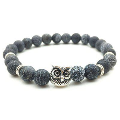 Unisex Weathering Agate Owl Beads BraceletBracelets &amp; Bangles<br>Unisex Weathering Agate Owl Beads Bracelet<br><br>Occasions: Casual, Others<br>Package Contents: 1 x Bracelet<br>Package size (L x W x H): 7.00 x 7.00 x 3.00 cm / 2.76 x 2.76 x 1.18 inches<br>Package weight: 0.0600 kg<br>Product weight: 0.0200 kg<br>Style: Fashion<br>Type: Bracelet