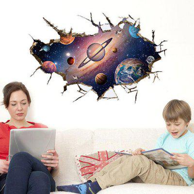 3D Space Pattern Design Wall StickerWall Stickers<br>3D Space Pattern Design Wall Sticker<br><br>Art Style: Plane Wall Stickers<br>Function: 3D Effect, Decorative Wall Sticker<br>Material: Vinyl(PVC), Self-adhesive Plastic<br>Package Contents: 1 x Sticker<br>Package size (L x W x H): 60.00 x 4.00 x 4.00 cm / 23.62 x 1.57 x 1.57 inches<br>Package weight: 0.2400 kg<br>Product weight: 0.1500 kg<br>Suitable Space: Bedroom,Boys Room,Living Room<br>Type: Plane Wall Sticker, 3D Wall Sticker