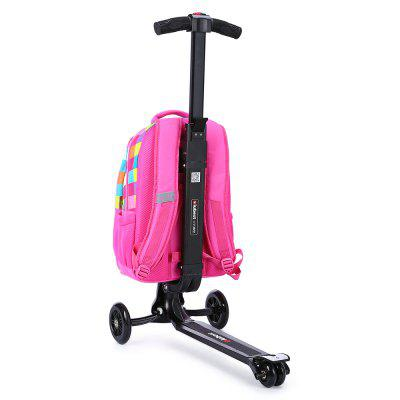 iubest IU - QB04 3-wheel Detachable Folding Backpack ScooterKick Scooter<br>iubest IU - QB04 3-wheel Detachable Folding Backpack Scooter<br><br>Brand: iubest<br>Folding Type: Folding<br>Package Content: 1 x iubest IU - QB04 Backpack Scooter<br>Package size: 40.00 x 33.00 x 7.00 cm / 15.75 x 12.99 x 2.76 inches<br>Package weight: 6.6800 kg<br>Product size: 35.00 x 60.00 x 97.00 cm / 13.78 x 23.62 x 38.19 inches<br>Product weight: 5.0000 kg<br>Seat Type: without Seat<br>Wheel Number: 3 Wheel