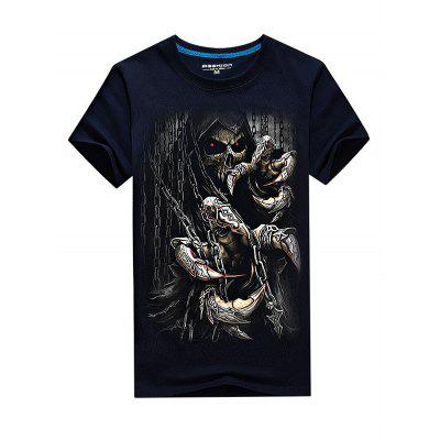 Men Hip-hop Style Cotton T-shirtMens Short Sleeve Tees<br>Men Hip-hop Style Cotton T-shirt<br><br>Material: Modal, Polyester<br>Neckline: Round Neck<br>Package Content: 1 x T-shirt<br>Package size: 35.00 x 25.00 x 2.00 cm / 13.78 x 9.84 x 0.79 inches<br>Package weight: 0.3500 kg<br>Product weight: 0.3000 kg<br>Season: Summer<br>Sleeve Length: Short Sleeves<br>Style: Fashion