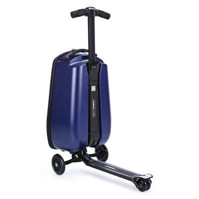 iubest IU - QX02 3-wheel Detachable Folding Suitcase ScooterKick Scooter<br>iubest IU - QX02 3-wheel Detachable Folding Suitcase Scooter<br><br>Brand: iubest<br>Folding Type: Folding<br>Package Content: 1 x iubest IU - QX02 Suitcase Scooter<br>Package size: 40.00 x 33.00 x 7.00 cm / 15.75 x 12.99 x 2.76 inches<br>Package weight: 7.6800 kg<br>Product size: 35.00 x 60.00 x 97.00 cm / 13.78 x 23.62 x 38.19 inches<br>Product weight: 6.0000 kg<br>Seat Type: without Seat<br>Wheel Number: 3 Wheel