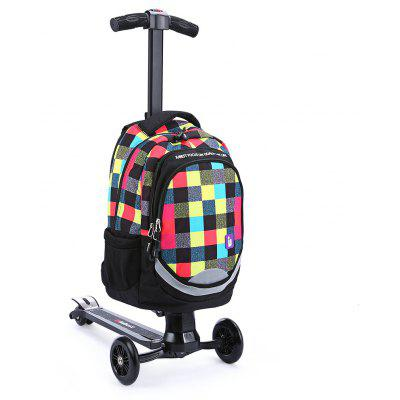 iubest IU - QB02 3-wheel Detachable Folding Backpack Scooter