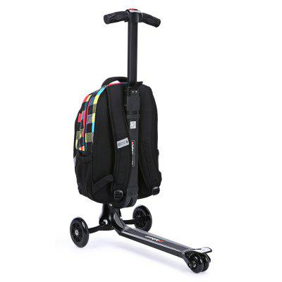 iubest IU - QB02 3-wheel Detachable Folding Backpack ScooterKick Scooter<br>iubest IU - QB02 3-wheel Detachable Folding Backpack Scooter<br><br>Brand: iubest<br>Folding Type: Folding<br>Package Content: 1 x iubest IU - QB02 Backpack Scooter<br>Package size: 40.00 x 33.00 x 70.00 cm / 15.75 x 12.99 x 27.56 inches<br>Package weight: 6.6800 kg<br>Product size: 35.00 x 60.00 x 97.00 cm / 13.78 x 23.62 x 38.19 inches<br>Product weight: 5.0000 kg<br>Seat Type: without Seat<br>Wheel Number: 3 Wheel