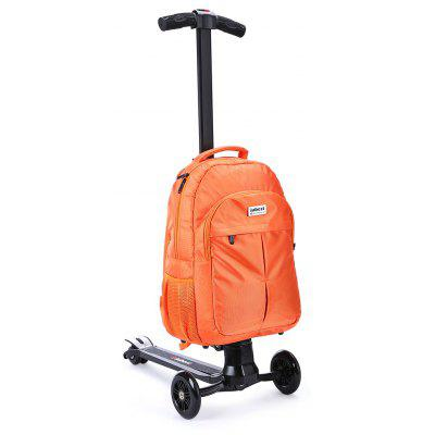 iubest IU - QB06 3-wheel Detachable Folding Backpack Scooter