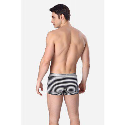 Male Comfortable Stylish Sexy Striped Boxer BriefMens Underwear &amp; Pajamas<br>Male Comfortable Stylish Sexy Striped Boxer Brief<br><br>Material: Cotton<br>Package Contents: 1 x Brief<br>Package size: 20.00 x 20.00 x 2.00 cm / 7.87 x 7.87 x 0.79 inches<br>Package weight: 0.1000 kg<br>Product weight: 0.0700 kg