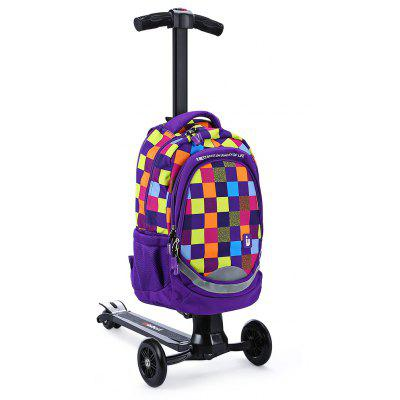 iubest IU - QB03 3-wheel Detacable Folding Backpack Scooter