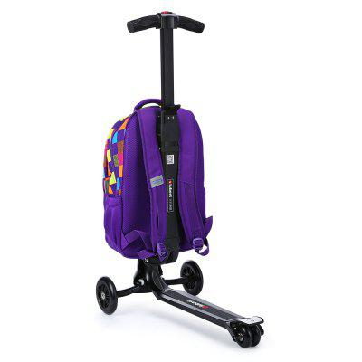 iubest IU - QB03 3-wheel Detacable Folding Backpack ScooterKick Scooter<br>iubest IU - QB03 3-wheel Detacable Folding Backpack Scooter<br><br>Brand: iubest<br>Folding Type: Folding<br>Package Content: 1 x iubest IU - QB03 Backpack Scooter<br>Package size: 40.00 x 33.00 x 70.00 cm / 15.75 x 12.99 x 27.56 inches<br>Package weight: 6.6800 kg<br>Product size: 35.00 x 60.00 x 97.00 cm / 13.78 x 23.62 x 38.19 inches<br>Product weight: 5.0000 kg<br>Seat Type: without Seat<br>Wheel Number: 3 Wheel