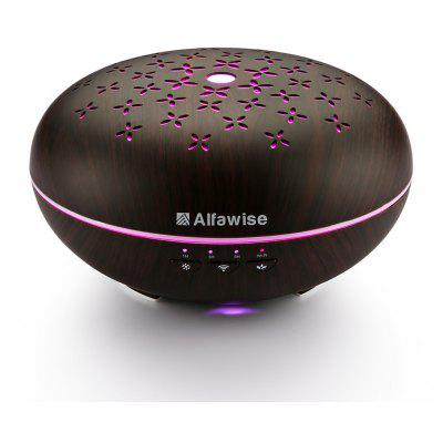 Buy BLACK WOOD Alfawise SJ 07B Humidifier Essential Oil Diffuser for $73.99 in GearBest store