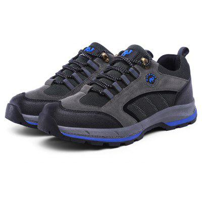 ZHJLUT Male Lace Up Light Outdoor Walking Athletic Shoes