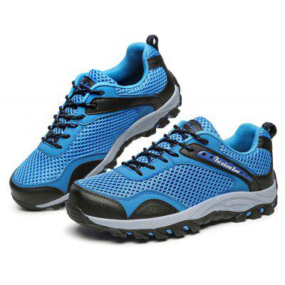 Male Anti Slip Mesh Light Outdoor Hiking Athletic Shoes
