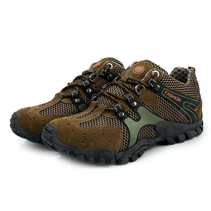 Male Breathable Anti Slip Outdoor Hiking Sneakers