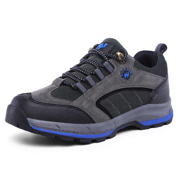 ZHJLUT Masculino Lace Up Light Outdoor Walking Athletic Shoes
