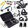 ZFY 30 in 1 Camera Accessories Kit for GoPro - BLACK