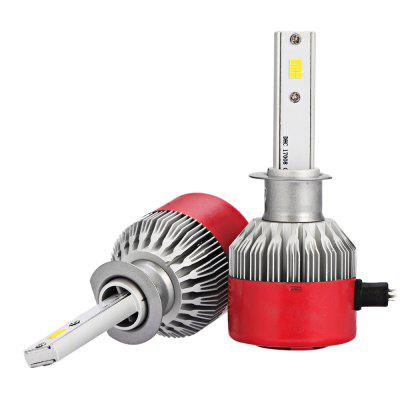 2pcs RC6 H1 White CSP LED Car Headlight BulbCar Lights<br>2pcs RC6 H1 White CSP LED Car Headlight Bulb<br><br>Adaptable automobile mode: Universal<br>Connector: H1<br>Lumens: 7200LM / set ( 3600LM / bulb )<br>Package Contents: 2 x LED Headlight<br>Package size (L x W x H): 18.00 x 12.00 x 5.00 cm / 7.09 x 4.72 x 1.97 inches<br>Package weight: 0.3000 kg<br>Product size (L x W x H): 8.00 x 3.30 x 1.30 cm / 3.15 x 1.3 x 0.51 inches<br>Product weight: 0.1270 kg