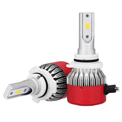 2pcs RC6 9006 HB4 White CSP LED Car Headlight BulbCar Lights<br>2pcs RC6 9006 HB4 White CSP LED Car Headlight Bulb<br><br>Adaptable automobile mode: Universal<br>Connector: 9006<br>Lumens: 7200LM / set ( 3600LM / bulb )<br>Package Contents: 2 x LED Headlight<br>Package size (L x W x H): 18.00 x 12.00 x 5.00 cm / 7.09 x 4.72 x 1.97 inches<br>Package weight: 0.3000 kg<br>Product size (L x W x H): 8.00 x 3.30 x 1.30 cm / 3.15 x 1.3 x 0.51 inches<br>Product weight: 0.1270 kg