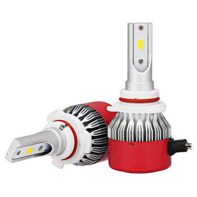 2pcs RC6 9005 HB3 White CSP LED Car Headlight BulbCar Lights<br>2pcs RC6 9005 HB3 White CSP LED Car Headlight Bulb<br><br>Adaptable automobile mode: Universal<br>Connector: 9005<br>Lumens: 7200LM / set ( 3600LM / bulb )<br>Package Contents: 2 x LED Headlight<br>Package size (L x W x H): 18.00 x 12.00 x 5.00 cm / 7.09 x 4.72 x 1.97 inches<br>Package weight: 0.3000 kg<br>Product size (L x W x H): 8.00 x 3.30 x 1.30 cm / 3.15 x 1.3 x 0.51 inches<br>Product weight: 0.1270 kg