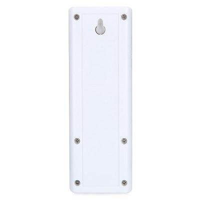 FYD1616 DC 5V Passive Infrared Body Sensor Mini Night LightWall Lights<br>FYD1616 DC 5V Passive Infrared Body Sensor Mini Night Light<br><br>Bulb Included: Yes<br>Feature: Human Body Induction<br>Illumination Field (sq.m.): 1-5sqm<br>Optional Light Color: White<br>Package Contents: 1 x Night Light, 1 x Power Cable, 1 x Magnet, 1 x Adhesive<br>Package size (L x W x H): 13.00 x 5.30 x 2.50 cm / 5.12 x 2.09 x 0.98 inches<br>Package weight: 0.1200 kg<br>Product size (L x W x H): 12.00 x 4.30 x 1.50 cm / 4.72 x 1.69 x 0.59 inches<br>Product weight: 0.0800 kg<br>Shade Material: ABS<br>Type: Night Light