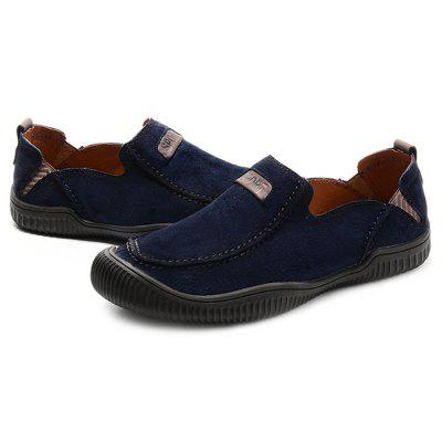 Outdoor Anti-slip Breathable Casual Shoes for MenCasual Shoes<br>Outdoor Anti-slip Breathable Casual Shoes for Men<br><br>Closure Type: Slip-On<br>Contents: 1 x Pair of Shoes<br>Materials: Rubber, Genuine Leather<br>Occasion: Running, Riding, Rainy Day, Casual<br>Outsole Material: Rubber<br>Package Size ( L x W x H ): 33.00 x 24.00 x 13.00 cm / 12.99 x 9.45 x 5.12 inches<br>Package Weights: 0.92kg<br>Seasons: Autumn,Spring,Summer<br>Style: Leisure, Fashion, Casual<br>Type: Casual Shoes<br>Upper Material: Leather