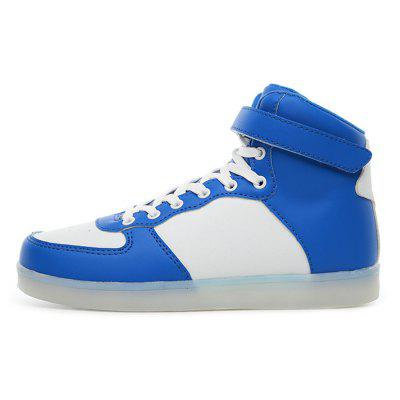 Male Handsome Fluorescence High Top Leather ShoesCasual Shoes<br>Male Handsome Fluorescence High Top Leather Shoes<br><br>Closure Type: Lace-Up, Lace-Up<br>Contents: 1 x Pair of Shoes, 1 x Pair of Shoes<br>Function: Slip Resistant, Slip Resistant<br>Materials: Rubber, Rubber, Mesh, Mesh, Artificial leather, Artificial leather<br>Occasion: Shopping, Shopping, Tea Party, Tea Party, Daily, Party, Party, Outdoor Clothing, Outdoor Clothing, Holiday, Holiday, Daily, Casual, Casual<br>Outsole Material: Rubber, Rubber<br>Package Size ( L x W x H ): 31.00 x 21.00 x 11.00 cm / 12.2 x 8.27 x 4.33 inches, 31.00 x 21.00 x 11.00 cm / 12.2 x 8.27 x 4.33 inches<br>Package Weights: 0.87kg, 0.87kg<br>Pattern Type: Solid, Solid<br>Seasons: Autumn,Spring, Autumn,Spring<br>Style: Modern, Casual, Comfortable, Leisure, Casual, Comfortable, Fashion, Fashion, Modern, Leisure<br>Toe Shape: Round Toe, Round Toe<br>Type: Casual Leather Shoes, Casual Leather Shoes<br>Upper Material: Artificial leather,Mesh, Artificial leather,Mesh