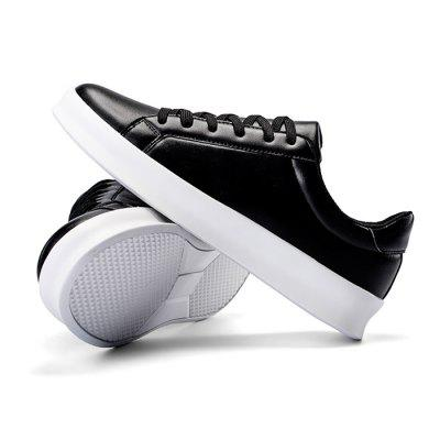 Male Simple Solid Color Anti Slip Lace Up Flat Leisure ShoesCasual Shoes<br>Male Simple Solid Color Anti Slip Lace Up Flat Leisure Shoes<br><br>Closure Type: Lace-Up<br>Contents: 1 x Pair of Shoes<br>Function: Slip Resistant<br>Materials: Rubber, PU<br>Occasion: Tea Party, Shopping, Office, Holiday, Daily, Casual, Party<br>Outsole Material: Rubber<br>Package Size ( L x W x H ): 33.00 x 22.00 x 11.00 cm / 12.99 x 8.66 x 4.33 inches<br>Package Weights: 0.77kg<br>Pattern Type: Solid<br>Seasons: Autumn,Spring<br>Style: Modern, Leisure, Fashion, Comfortable, Casual<br>Toe Shape: Round Toe<br>Type: Casual Shoes<br>Upper Material: PU