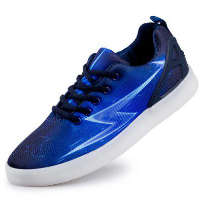 Male Stylish Casual Fluorescence Anti Slip Flat Leather ShoesCasual Shoes<br>Male Stylish Casual Fluorescence Anti Slip Flat Leather Shoes<br><br>Closure Type: Lace-Up<br>Contents: 1 x Pair of Shoes<br>Function: Slip Resistant<br>Materials: Mesh, Rubber, Artificial leather<br>Occasion: Tea Party, Shopping, Outdoor Clothing, Holiday, Daily, Casual, Party<br>Outsole Material: Rubber<br>Package Size ( L x W x H ): 31.00 x 21.00 x 11.00 cm / 12.2 x 8.27 x 4.33 inches<br>Package Weights: 0.82kg<br>Seasons: Autumn,Spring<br>Style: Modern, Leisure, Fashion, Comfortable, Casual<br>Toe Shape: Round Toe<br>Type: Casual Leather Shoes<br>Upper Material: Artificial leather,Mesh
