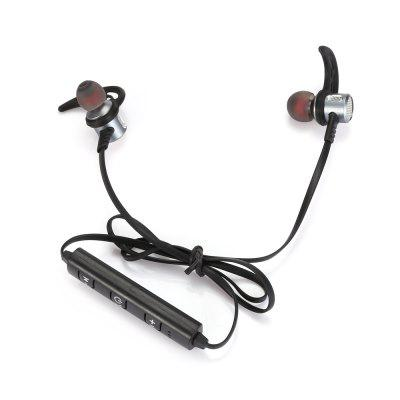 G 88 3.5mm Universal Neckband EarbudsEarbud Headphones<br>G 88 3.5mm Universal Neckband Earbuds<br><br>Application: Sport<br>Compatible with: Computer, Mobile phone, iPod<br>Connectivity: Wireless<br>Function: Voice control, Song Switching, Microphone<br>Impedance: 32ohms<br>Language: Chinese,English<br>Material: Aluminum Alloy, Metal<br>Package Contents: 1 x Earphones, 4 x Earbud Tip, 1 x USB Cable, 1 x English User Manual<br>Package size (L x W x H): 17.00 x 10.30 x 3.00 cm / 6.69 x 4.06 x 1.18 inches<br>Package weight: 0.0770 kg<br>Product weight: 0.0120 kg<br>Type: In-Ear