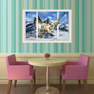 3D Eagle Snow Mountain Home Decor Wall StickerWall Stickers<br>3D Eagle Snow Mountain Home Decor Wall Sticker<br><br>Art Style: Plane Wall Stickers<br>Functions: Decorative Wall Stickers<br>Hang In/Stick On: Bedrooms,Hotels,Living Rooms<br>Material: Vinyl(PVC)<br>Package Contents: 1 x Wall Sticker<br>Package size (L x W x H): 61.00 x 4.00 x 4.00 cm / 24.02 x 1.57 x 1.57 inches<br>Package weight: 0.2400 kg<br>Product size (L x W x H): 90.00 x 60.00 x 0.10 cm / 35.43 x 23.62 x 0.04 inches<br>Product weight: 0.1500 kg<br>Subjects: Animal
