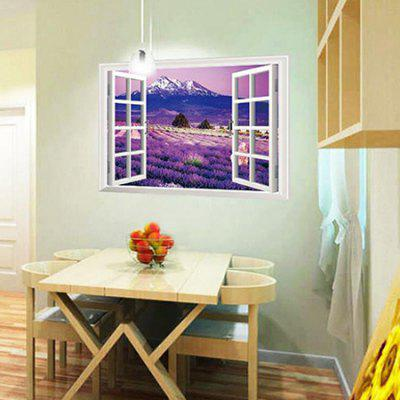 Creative 3D Lavender Home Decoration Wall StickerWall Stickers<br>Creative 3D Lavender Home Decoration Wall Sticker<br><br>Art Style: Plane Wall Stickers<br>Functions: Decorative Wall Stickers<br>Material: Vinyl(PVC)<br>Package Contents: 1 x Sticker<br>Package size (L x W x H): 61.00 x 4.00 x 4.00 cm / 24.02 x 1.57 x 1.57 inches<br>Package weight: 0.2400 kg<br>Product size (L x W x H): 90.00 x 60.00 x 0.10 cm / 35.43 x 23.62 x 0.04 inches<br>Product weight: 0.1500 kg