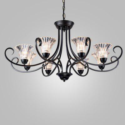 Modern Exquisite Country Iron Fashion Chandelier 220V