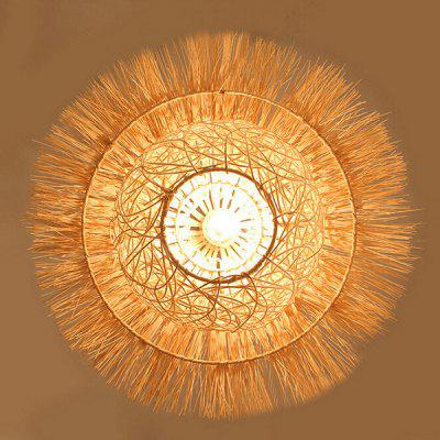 Handmade Bamboo and Rattan Cottage Pendant Lamp 220VPendant Light<br>Handmade Bamboo and Rattan Cottage Pendant Lamp 220V<br><br>Battery Included: No<br>Bulb Base: E27<br>Bulb Included: No<br>Chain / Cord Adjustable or Not: Chain / Cord Adjustable<br>Chain / Cord Length ( CM ): 50cm<br>Features: Eye Protection<br>Fixture Height ( CM ): 25cm<br>Fixture Length ( CM ): 40cm<br>Fixture Width ( CM ): 40cm<br>Light Direction: Downlight<br>Number of Bulb: 1 Bulb<br>Number of Bulb Sockets: 1<br>Package Contents: 1 x Light, 1 x Assembly Parts<br>Package size (L x W x H): 50.00 x 50.00 x 30.00 cm / 19.69 x 19.69 x 11.81 inches<br>Package weight: 2.0300 kg<br>Product weight: 1.0000 kg<br>Remote Control Supported: No<br>Shade Material: Bamboo Rattan, Grass Rattan<br>Style: Modern/Contemporary<br>Suggested Room Size: 10 - 15?<br>Suggested Space Fit: Bedroom,Dining Room,Kids Room,Study Room<br>Type: Pendant Light, Chandeliers<br>Voltage ( V ): AC220