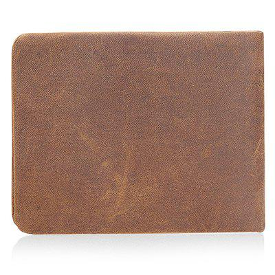 Fashion Retro Trifold Leather Men WalletWallets<br>Fashion Retro Trifold Leather Men Wallet<br><br>Features: Wearable<br>Gender: Men<br>Material: Leather, Polyester<br>Package Size(L x W x H): 13.00 x 10.00 x 3.00 cm / 5.12 x 3.94 x 1.18 inches<br>Package weight: 0.1600 kg<br>Packing List: 1 x Wallet<br>Product Size(L x W x H): 12.00 x 9.00 x 1.50 cm / 4.72 x 3.54 x 0.59 inches<br>Product weight: 0.1200 kg<br>Style: Fashion, Casual<br>Type: Wallet