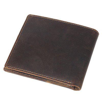 Business Retro Bifold Leather Men WalletWallets<br>Business Retro Bifold Leather Men Wallet<br><br>Features: Wearable<br>Gender: Men<br>Material: Cotton, Leather<br>Package Size(L x W x H): 12.00 x 10.00 x 3.00 cm / 4.72 x 3.94 x 1.18 inches<br>Package weight: 0.1700 kg<br>Packing List: 1 x Wallet<br>Product Size(L x W x H): 11.00 x 9.00 x 1.70 cm / 4.33 x 3.54 x 0.67 inches<br>Product weight: 0.1200 kg<br>Style: Fashion, Casual<br>Type: Wallet