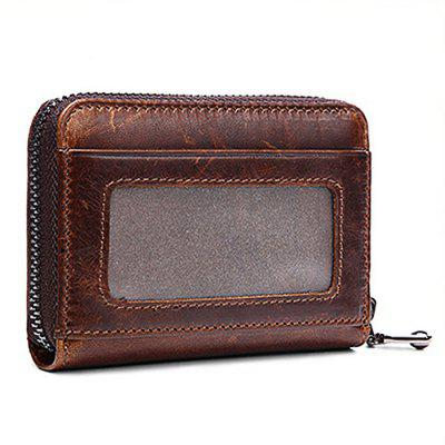 Leather Multi Credit Card Holder for MenWallets<br>Leather Multi Credit Card Holder for Men<br><br>Features: Wearable<br>Gender: Men<br>Material: Leather<br>Package Size(L x W x H): 12.00 x 3.50 x 9.00 cm / 4.72 x 1.38 x 3.54 inches<br>Package weight: 0.0900 kg<br>Packing List: 1 x Card Holder<br>Product Size(L x W x H): 11.00 x 2.50 x 8.00 cm / 4.33 x 0.98 x 3.15 inches<br>Product weight: 0.0600 kg<br>Style: Casual, Fashion<br>Type: Wallet