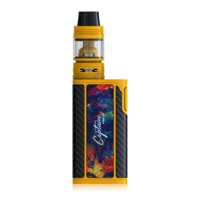 Original IJOY Captain PD270 KitMod kits<br>Original IJOY Captain PD270 Kit<br><br>APV Mod Wattage Range: Over 200W<br>Atomizer Capacity: 4.0ml<br>Atomizer Resistance: 0.3 ohm / 0.2 ohm<br>Atomizer Type: Clearomizer, Tank Atomizer<br>Battery Form Factor: 20700<br>Battery Quantity: 2pcs ( not included )<br>Brand: IJOY<br>Connection Threading of Atomizer: 510<br>Connection Threading of Battery: 510<br>Material: Zinc Alloy, Stainless Steel, Glass<br>Mod Type: VV/VW Mod, Temperature Control Mod<br>Model: Captain PD270<br>Package Contents: 1 x IJOY CAPTAIN PD270 Box Mod ( 234W ), 2 x 20700 Battery, 1 x IJOY CAPTAIN S Subohm Tank, 1 x CA3 Coil 0.2 ohm ( 60 - 100W ), 1 x 18650 Adapter, 1 x 510 Drip Tip Adapter, 1 x English USB Cable, 1 x<br>Package size (L x W x H): 16.00 x 8.00 x 5.00 cm / 6.3 x 3.15 x 1.97 inches<br>Package weight: 0.5600 kg<br>Product size (L x W x H): 14.80 x 4.80 x 3.20 cm / 5.83 x 1.89 x 1.26 inches<br>Product weight: 0.3400 kg<br>Temperature Control Range: 300 - 600 Deg.F