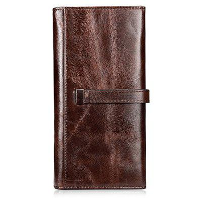 Retro Leather Long Wallet for MenWallets<br>Retro Leather Long Wallet for Men<br><br>Features: Wearable<br>Gender: Men<br>Material: Leather<br>Package Size(L x W x H): 20.50 x 10.50 x 3.50 cm / 8.07 x 4.13 x 1.38 inches<br>Package weight: 0.1870 kg<br>Packing List: 1 x Wallet<br>Product weight: 0.1570 kg<br>Style: Casual, Fashion<br>Type: Wallet