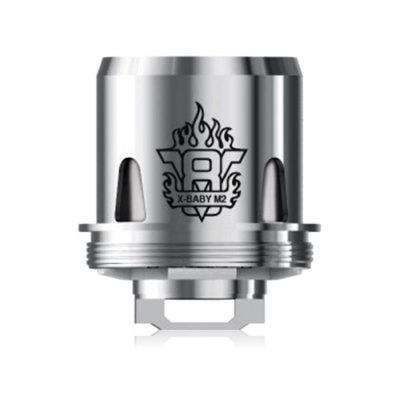 3pcs SMOK V8 X - BABY M2 0.25 ohm Dual CoilsAccessories<br>3pcs SMOK V8 X - BABY M2 0.25 ohm Dual Coils<br><br>Material: Stainless Steel<br>Package Contents: 3 x Coil<br>Package size (L x W x H): 12.50 x 6.50 x 3.50 cm / 4.92 x 2.56 x 1.38 inches<br>Package weight: 0.1200 kg<br>Product size (L x W x H): 3.20 x 2.00 x 2.00 cm / 1.26 x 0.79 x 0.79 inches<br>Product weight: 0.0200 kg