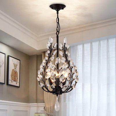 LightMyself YQ1004 - 4B American Crystal ChandelierChandelier<br>LightMyself YQ1004 - 4B American Crystal Chandelier<br><br>Battery Included: No<br>Bulb Base: E14<br>Bulb Included: No<br>Chain / Cord Length ( CM ): 50cm<br>Features: Crystal<br>Fixture Height ( CM ): 60cm<br>Fixture Length ( CM ): 36cm<br>Fixture Width ( CM ): 36cm<br>Light Direction: Downlight<br>Number of Bulb: 4 Bulbs<br>Number of Bulb Sockets: 4<br>Package Contents: 1 x Crystal Chandelier, 1 x English Installation Manual, 1 x Installation Kit, 1 x Spare Parts<br>Package size (L x W x H): 60.00 x 19.00 x 26.00 cm / 23.62 x 7.48 x 10.24 inches<br>Package weight: 5.4500 kg<br>Product weight: 4.8000 kg<br>Shade Material: Crystal, Iron<br>Style: Modern/Contemporary<br>Suggested Room Size: 30 - 40?<br>Suggested Space Fit: Bedroom,Dining Room,Hallway,Living Room<br>Type: Chandeliers<br>Voltage ( V ): AC220 - 240