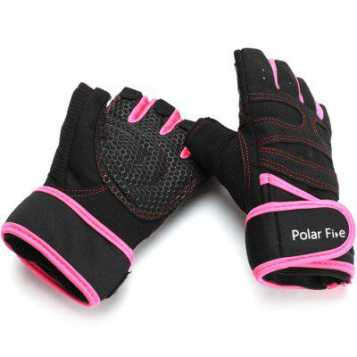 Polarfire STT303 Pair of Half-finger Anti-slip Cycling GlovesCycling Gloves<br>Polarfire STT303 Pair of Half-finger Anti-slip Cycling Gloves<br><br>Brand: PolarFire<br>Gender: Unisex<br>Package Contents: 1 x Pair of Gloves<br>Package size (L x W x H): 25.00 x 14.00 x 3.50 cm / 9.84 x 5.51 x 1.38 inches<br>Package weight: 0.1000 kg<br>Product weight: 0.0760 kg<br>Size: XL