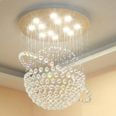 Ceiling lights best ceiling lights online shopping gearbest crystal lighting mozeypictures Images